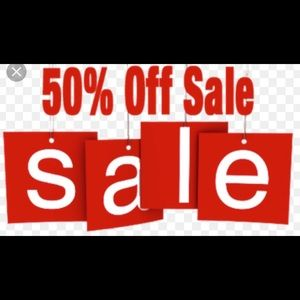 Other - Today until 9 pm. 50% off everything!